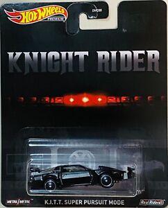 Hot Wheels Knight Rider KITT Super Pursuit Mode (SALE)