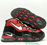Nike Air Max Uptempo '95 Mens Running Training Gym Red Black CK0892-600 Pippen