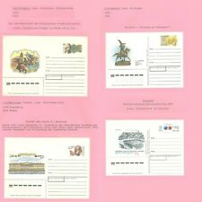 Stationery Ap05 Russia Science History Art Sculptor Philately 4 Covers