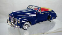 Vintage Buick Roadmaster 1941 Collectible Diecast Toy Model Car Oldtimer Classic