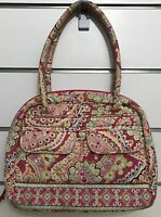 Vera Bradley Bowler Shoulder Bag in Capri Melon