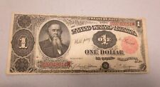 1891 $1.00 Treasury Note (Stanton) Tillman/Morgan Circ