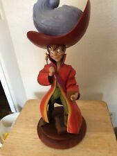 Disney's Peter Pan dressed as Captain Hook large 2ft figure statue Very Rare