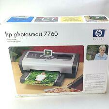 HP Photosmart 7760 Digital Inkjet Photo Scanner Printer W/ power & USB Cord