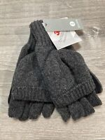 Thinsulate Fingerless Gloves convertible Mittens igloos new with tags men's one
