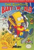 Simpsons Bart VS The World - Nintendo NES Game Authentic