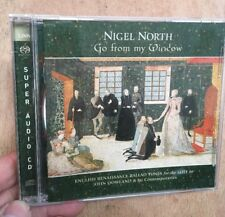 Nigel North:Go From My Window CD SACD English Renaissance Lute John Dowland Linn