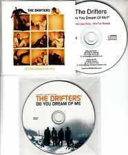 THE DRIFTERS Do You Dream Of Me? 2010 UK 1-track promo test CD + DVD set
