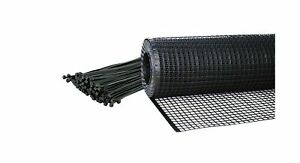 Kidkusion Heavy Duty Deck Guard, Black - 16' L x 3' H | Made in USA; Indoor/O...