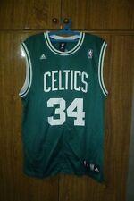Boston Celtics Adidas NBA Jersey #34 Paul Pierce Basketball Green Men Size L