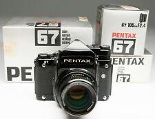 PENTAX 67 + SMC Pentax 67 105/2,4