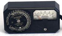 WESTON CINE Exposure Meter Photo Photography Vintage Lightmeter AS IS