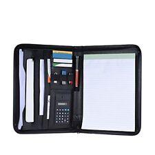 Aibecy multi-functional portfolio clipboard folder, A4 PU leather business docum