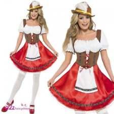 Costumi e travestimenti rosso per carnevale e teatro taglia L, a tema degli abiti nazionali