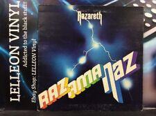 Nazareth Razamanaz Gatefold LP Album Vinyl CREST1 A1U/B1U Rock 70's Mooncrest