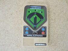 Vintage 1978 Mattel Electronics Baseball Handheld Game Euc
