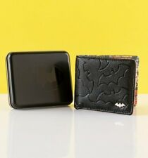 Official Men's Batman Embossed Wallet With Tin