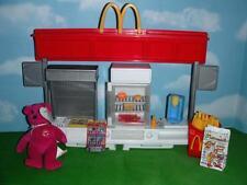 Barbie Doll McDonalds Station Deep Fryer Fridge Soda Dispenser Happy Meal Food