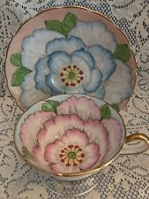 "Vintage Grosvenor ""Lotus"" Fine Bone China Tea Cup & Saucer, England"