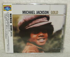 Michael Jackson Gold Taiwan 2-CD w/OBI
