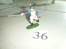 Figuren 1:32 Nr.36 Französischer  General  Waterloo 1815 Airfix figura1:32