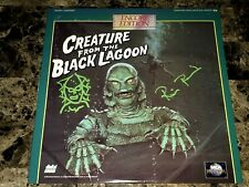 The Creature From The Black Lagoon Signed Laserdisc Ricou Browning Art Sketch