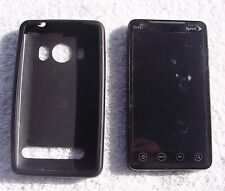 NEAR MINT COND BLACK HTC EVO 4G APA9292 SPRINT 4G TOUCHSCREEN WiFi CAMERA PHONE