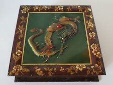 HUNTLEY & PALMERS DRAGON ANTIQUE TIN, C. 1907