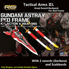 BTF Great Sword Tactical Arms pack for Bandai 1/144 RG Gundam Astray Red Frame