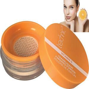 Technic Vitamin C Transparent Loose Face Powder Setting Finishing Fixing Makeup
