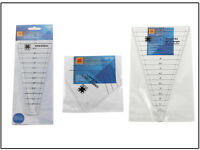 3pcs Multifunctional clothing patchwork ruler Manual stitching ruler/Firm ruler
