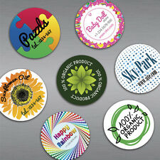 "1000 Custom 35mil Thick 2.5"" Diameter Circle Fridge Magnets with Your Design/Log"