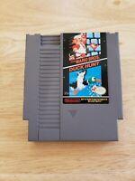 Nintendo - Super Mario Bros. & Duck Hunt (Good & Tested) Authentic NES Combo