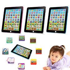 Tablet Pad Computer für Kinder Englisch lernen Educational Teach-Spielzeug-Toy-#