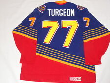 PIERRE TURGEON SIGNED #77 VINTAGE CCM  ST. LOUIS BLUES JERSEY PROOF RARE