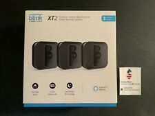 Blink XT2 3-Camera Indoor Outdoor 1080p Smart Home Security System  OPEN BOX