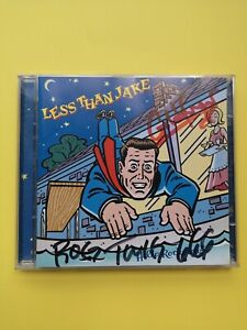 Less Than Jake - Hello RockView - 2CD - Autographed 2000 era Band Members - RARE