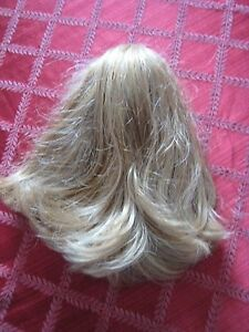 """Sleek Blonde Ponytail 10"""" long or Curly Brown Pony Tail Cheer Leading Long Hair"""