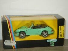 Porsche 911 Carrera 2 Cabrio - Schabak 1110 Germany 1:43 in Box *43052