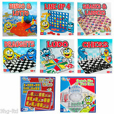 Traditional Childs Board Games Guess Whos Who Connect 4 Line Up Chess Ludo New