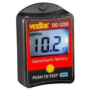 Vexilar Digital Depth and Battery Gauge #DD-100