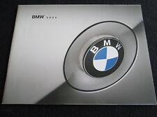 2005 BMW Brochure M5 745i 760Li 645Ci 525i 530i 545i M3 330i 325i Catalog