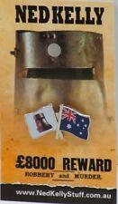 79019 NED KELLY STUFF COLLECTABLE PIN BADGE 19 of 20 HELMET & AUSTRALIAN FLAG