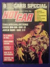 HOT CAR - CARB SPECIAL - July 1976 vol 9 #4