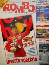 ROMBO 49 1990 con inserto Speciale Motor Show Jean Alesi Ferrari