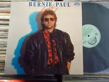 BERNIE PAUL  CZECH SUPRAPHON LP: LUCKY (1113 4437, LABEL HELLGRÜN)