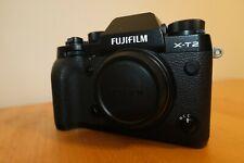 Fujifilm Fuji X-T2 24.3MP Digital SLR Camera - Black