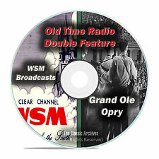 The Grand Ole Opry, 440 CLASSIC EPISODES, Music Old Time Radio, OTR, DVD CD F66