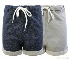Cotton Patternless High Rise Shorts for Women