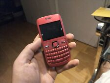 100% Genuine Nokia C3-00 - Hot pink (Unlocked) Smartphone QWERTY texting phone